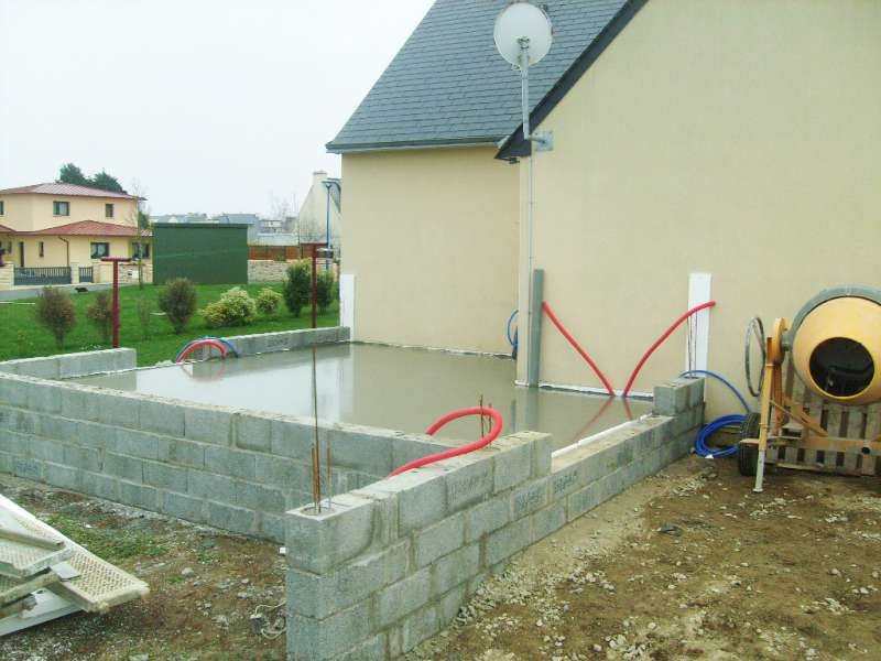 Construction de garage en parpaing r ma onnerie for Construction garage parpaing