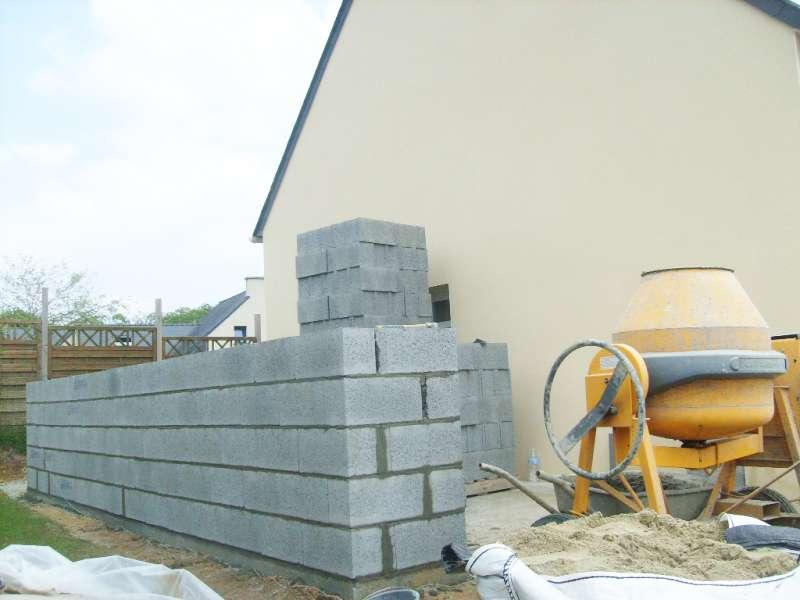 Construction De Garage En Parpaing  R Maonnerie